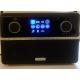Roberts Stream 94i PLUS Noir - Compatible avec les services de streaming Deezer, Spotify, Tidal, Qobuz et Amazon Music