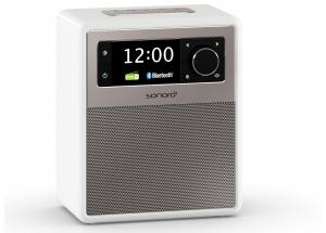Sonoro EASY Blanc - Poste de radio FM/DAB et Bluetooth