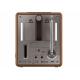 Sonoro EASY Noyer - Fonctionne sur secteur ou avec des piles alcalines/rechargeables
