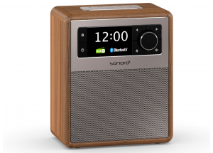 Sonoro EASY Noyer - Poste de radio FM/DAB et Bluetooth