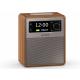 Sonoro EASY Noyer - Poste de radio FM/DAB et Bluetooth