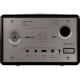 Sonoro QUBO  Noir - Poste de radio entrée USB, mini-jack, sortie casque audio
