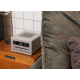 Sonoro QUBO Gris - Poste de radio idéal dans une chambre un bureau ou un coin lecture