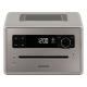 Sonoro QUBO Gris - Poste de radio avec lecteur CD intégré facile à utiliser grâce à son large écran couleur lecteur CD