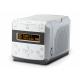 Roberts Sound 48 Blanc - Poste de radio DAB+ / FM compatible Bluetooth avec lecteur CD et port usb de lecture