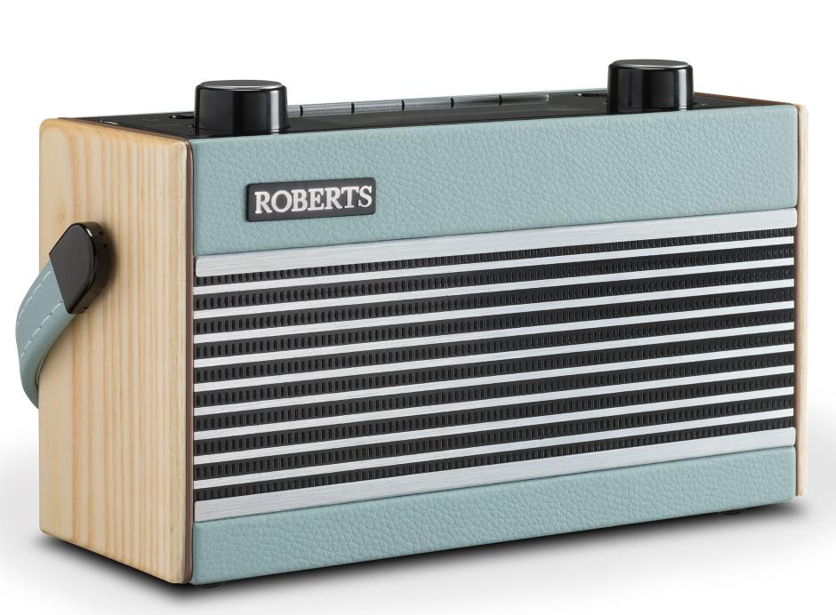 Roberts Rambler BT - Poste de radio DAB+ / FM vintage en passant par le Bluetooth et nomade
