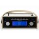 Roberts Rambler BT Pastel Crème -  Écran vintage sur le dessus du poste de radio