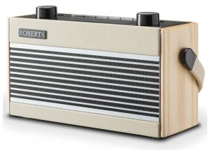 Roberts Rambler BT Pastel Crème - Poste de radio DAB+ / FM vintage en passant par le Bluetooth