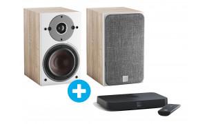 Dali Sound Hub Compact + Dali Oberon 1C Chêne