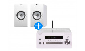 KEF Q350 Blanc + Advance Paris MyConnect 60 Blanc