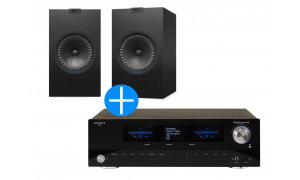 KEF Q350 Noir + Advance Playstream A5 Noir