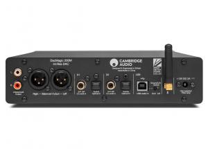 Cambridge Audio DAC Magic 200 M - Sorties RCA, XLR, entrées numériques USB-B, coaxiales, optiques