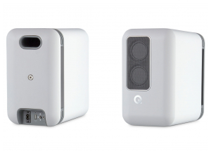 Q Acoustics Q Active 200 Google Blanc - Enceintes actives sans fil avec hub de contrôle