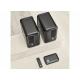 Q Acoustics Q Active 200 Google Noir - Enceintes vendues avec leur hub de contrôle et une télécommande