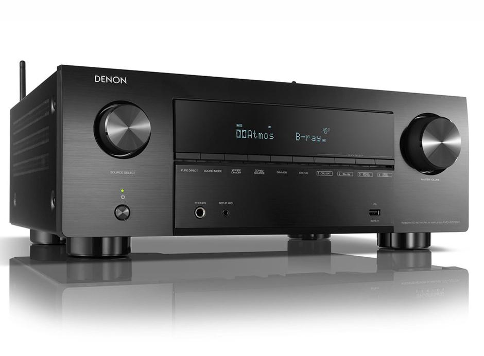Denon AVC-X3700H - Amplificateur AV 8K à 9.2 canaux avec audio 3D, HEOS intégré et contrôle vocal