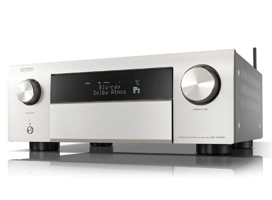 Denon AVC-X4700H - Amplificateur AV 8K à 9.2 canaux avec audio 3D, HEOS intégré et contrôle vocal