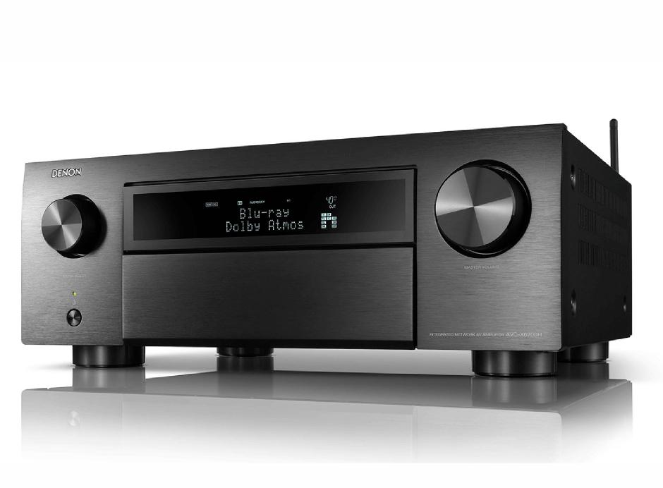 Denon AVC-X6700H - Amplificateur AV 8K à 11.2 canaux avec audio 3D, HEOS intégré et contrôle vocal