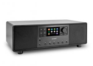 Sonoro PRIMUS Noir - Mini-chaîne HiFi tout-en-un Internet/FM/DAB Bluetooth aptX