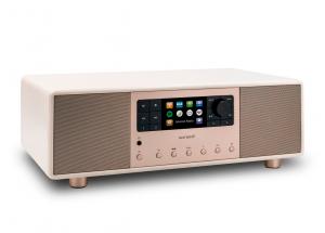 Sonoro PRIMUS Champagne - Mini-chaîne HiFi tout-en-un Internet/FM/DAB Bluetooth aptX