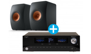 Advance Paris Playstream A7 + KEF LS50 Meta Noir