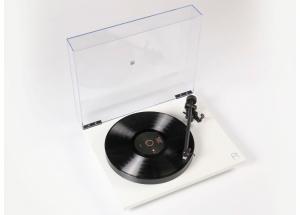 Rega Planar 1 Plus Blanc Mat - Platine vinyle préamplifiée pour 33 et 45 tours