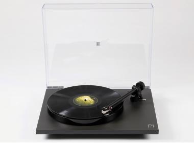 Rega Planar 1 Plus Noir mat : Platine vinyle 33 /45 tours avec préampli phono et sortie RCA