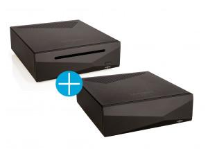 Serveur et lecteur réseau Innuos ZENMini LPSU + alimentation ZENMini Mk3