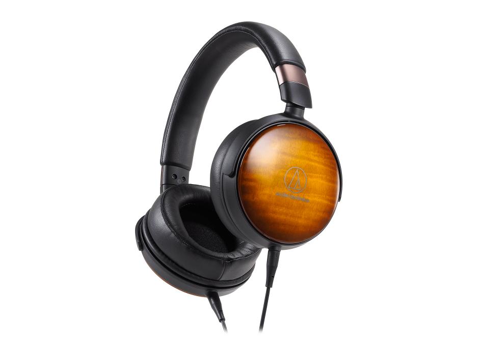 Audio Technica ATH-WP900 - casque portable en bois
