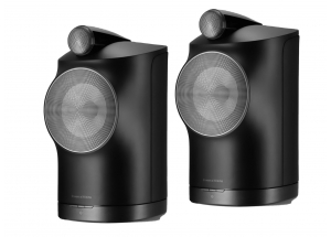 Bowers & Wilkins Formation Duo Noir - Paire d'enceinte connectée sans fil AirPlay 2, Spotify Connect, Roon et Bluetooth