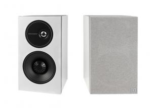 Definitive Technology D9 Blanc - Paire d'enceinte bibliothèque audiophile puissante précise pour ampli traditionnel et connecté