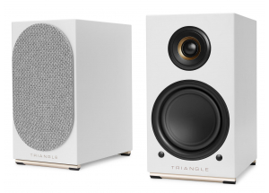 Triangle AIO Twin Blanc - Paire d'enceintes connectées WiFi, Bluetooth et AirPlay