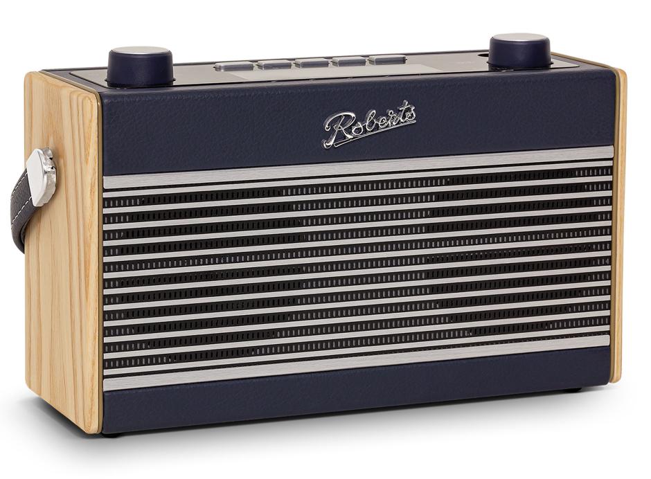 Roberts Rambler BT Stereo - Poste de radio stéréo DAB+ / FM vintage en passant par le Bluetooth