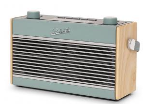 Roberts Rambler BT Stereo Bleu ciel - Poste de radio stéréo DAB+ / FM vintage en passant par le Bluetooth