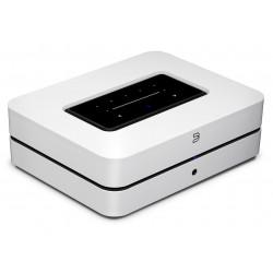 Bluesound POWERNODE avec HDMI eARC Blanc : ampli HiFi connecté WiFi, AirPlay 2, Bluetooth, lecteur réseau HD multiroom