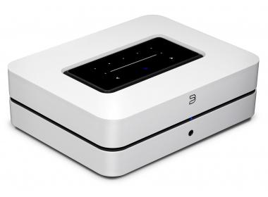 Bluesound POWERNODE avec HDMI eARC Blanc