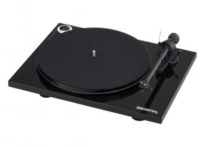 Pro-Ject Essential III Phono Noir - Platine vinyle chassis en MDP