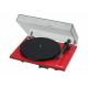 Pro-Ject Essential III Phono Rouge - Elle est livrée avec plusieurs accessoires dont un capot de protection
