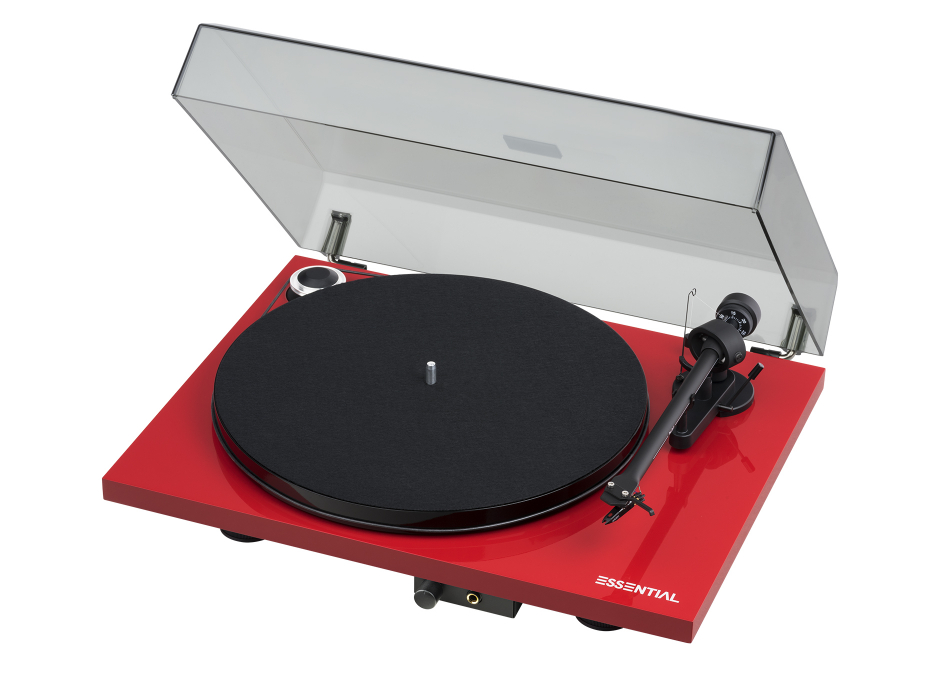 Pro-Ject Essential III Phono - Platine vinyle HiFi pré-ampli phono intégré