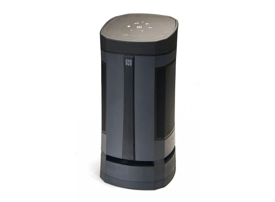 Soundcast VG5 - Enceinte sans fil d'extérieur, puissante avec Bluetooth et diffusion de son à 360°