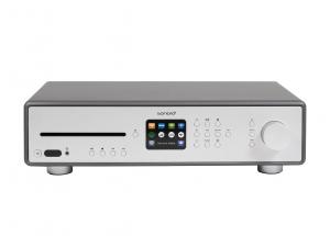 Sonoro MAESTRO Gris Mat - Ampli HiFi connecté WiFi, Bluetooth, entrée Phono, entrée TV avec lecteur réseau et CD