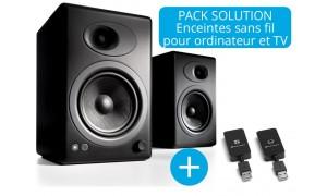 Audioengine A5+ et W3