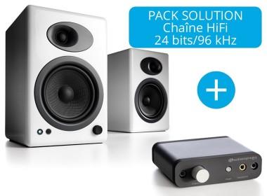 Audioengine A5+ et DAC D1