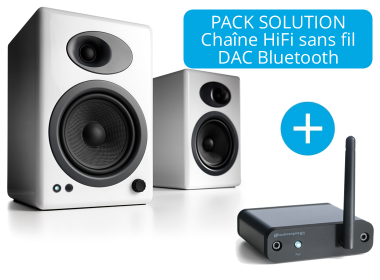Audioengine A5+ et DAC Bluetooth B1