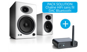 Audioengine A5+ et DAC Bluetooth B1