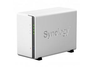 NAS Synology 218j : configuration matérielle et logicielle réalisées en atelier