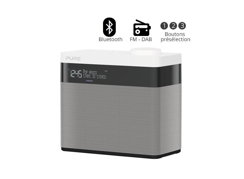 poste radio fm et rnt avec batterie int gr e. Black Bedroom Furniture Sets. Home Design Ideas