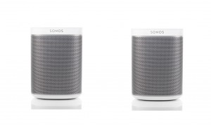 Sonos Play 1 - Pack Duo Blanc
