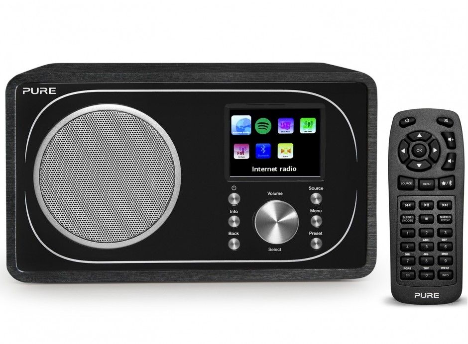 poste radio internet fm rnt avec bluetooth. Black Bedroom Furniture Sets. Home Design Ideas