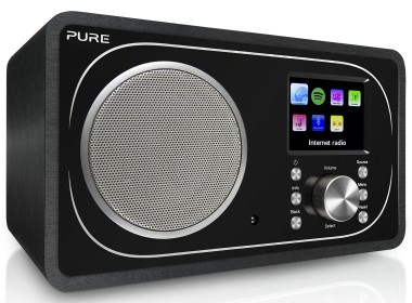 Pure Evoke F3 : Poste de radio Internet DAB FM avec réception sans fil Bluetooth