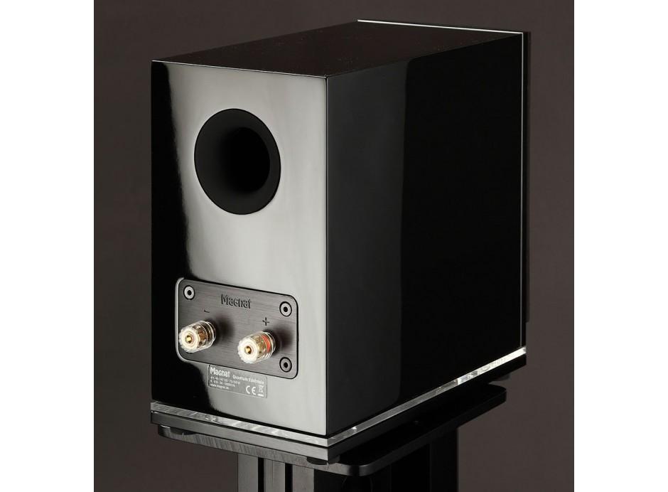 Enceintes audiophiles format biblioth que 75 w la paire - Bibliotheque noir laque ...